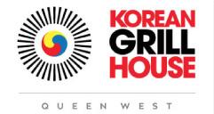 Korean Grill House Queen Logo