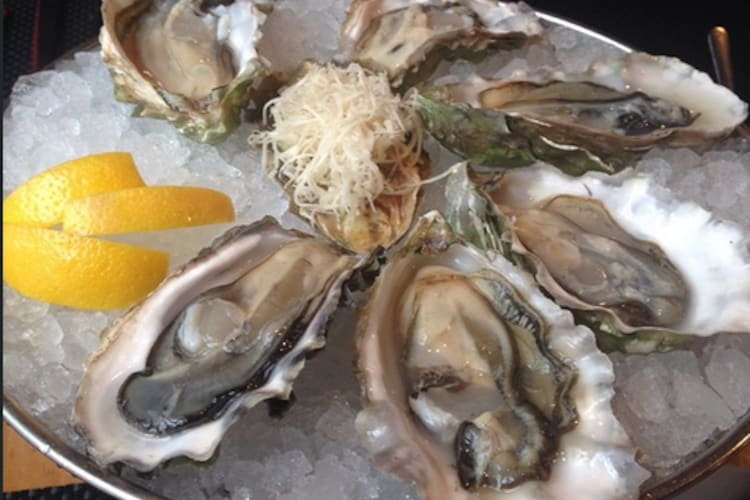 oysters at Pure Spirits Oyster House