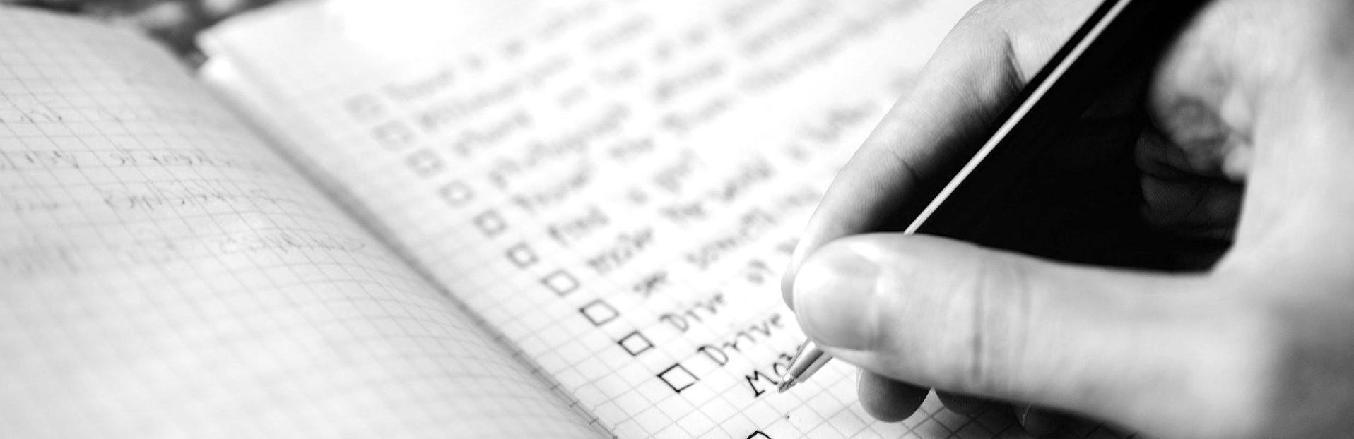 SEO Audit Feature - Writing checkliist