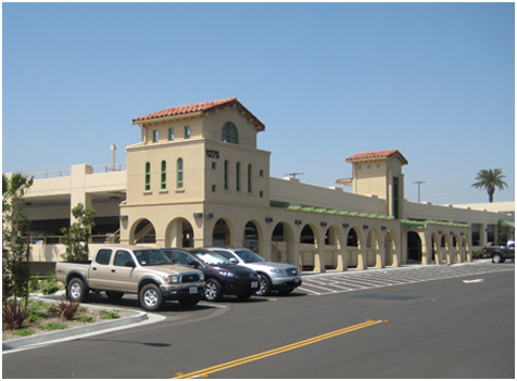 SANTA FE DEPOT TRANSPORTATION CENTER PARKING STRUCTURE SAN BERNARDINO, CALIFORNIA