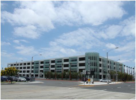 LONG BEACH AIRPORT PARKING STRUCTURE