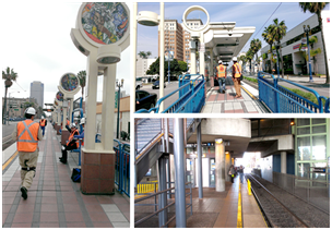 Los Angeles County Metropolitan Transportation Authority – Blue Line Station Refurbishments (21 Stations)