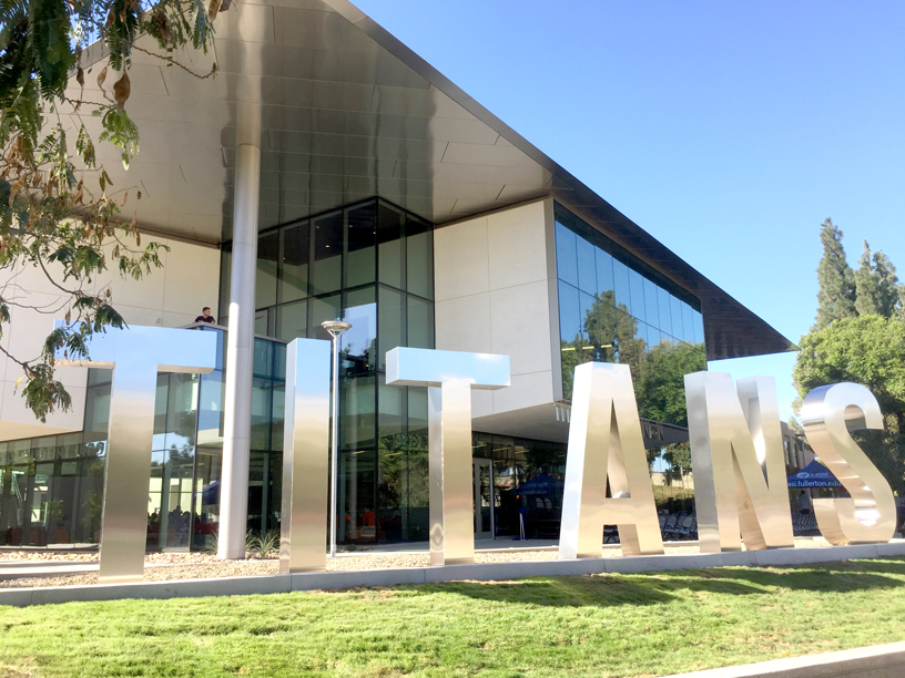 Grand Opening for the Cal State Fullerton Titan Student Union (TSU)