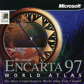 1996-Encarta 97 World Atlas