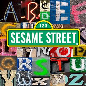 1996-Sesame Alphabet Street Signs