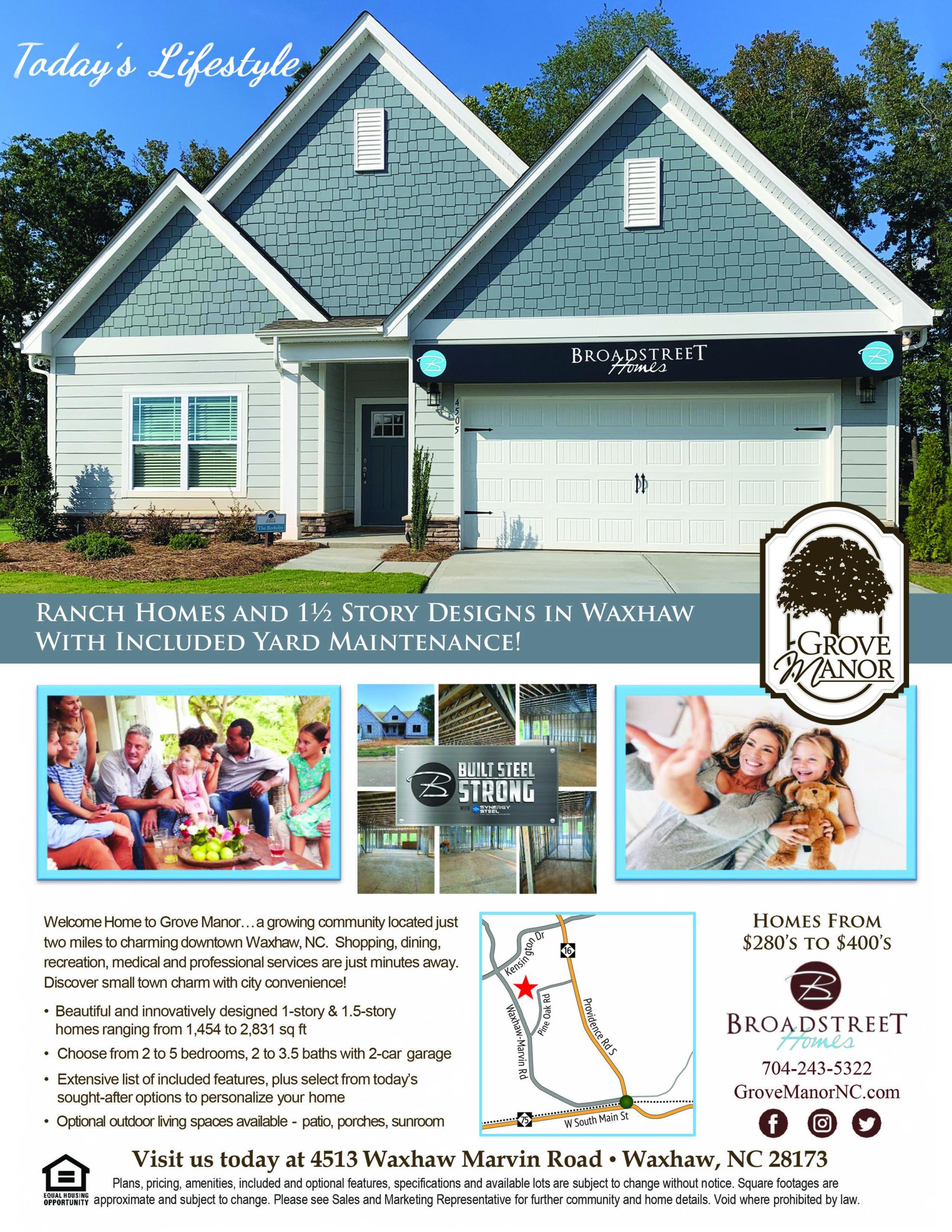 Broadstreet Homes & Grove Manor