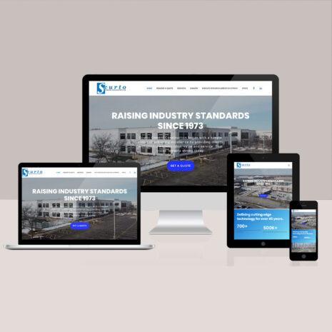 Scurto Website Development By Nicci Orozco