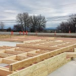 Framing for the structure of our brand new building!