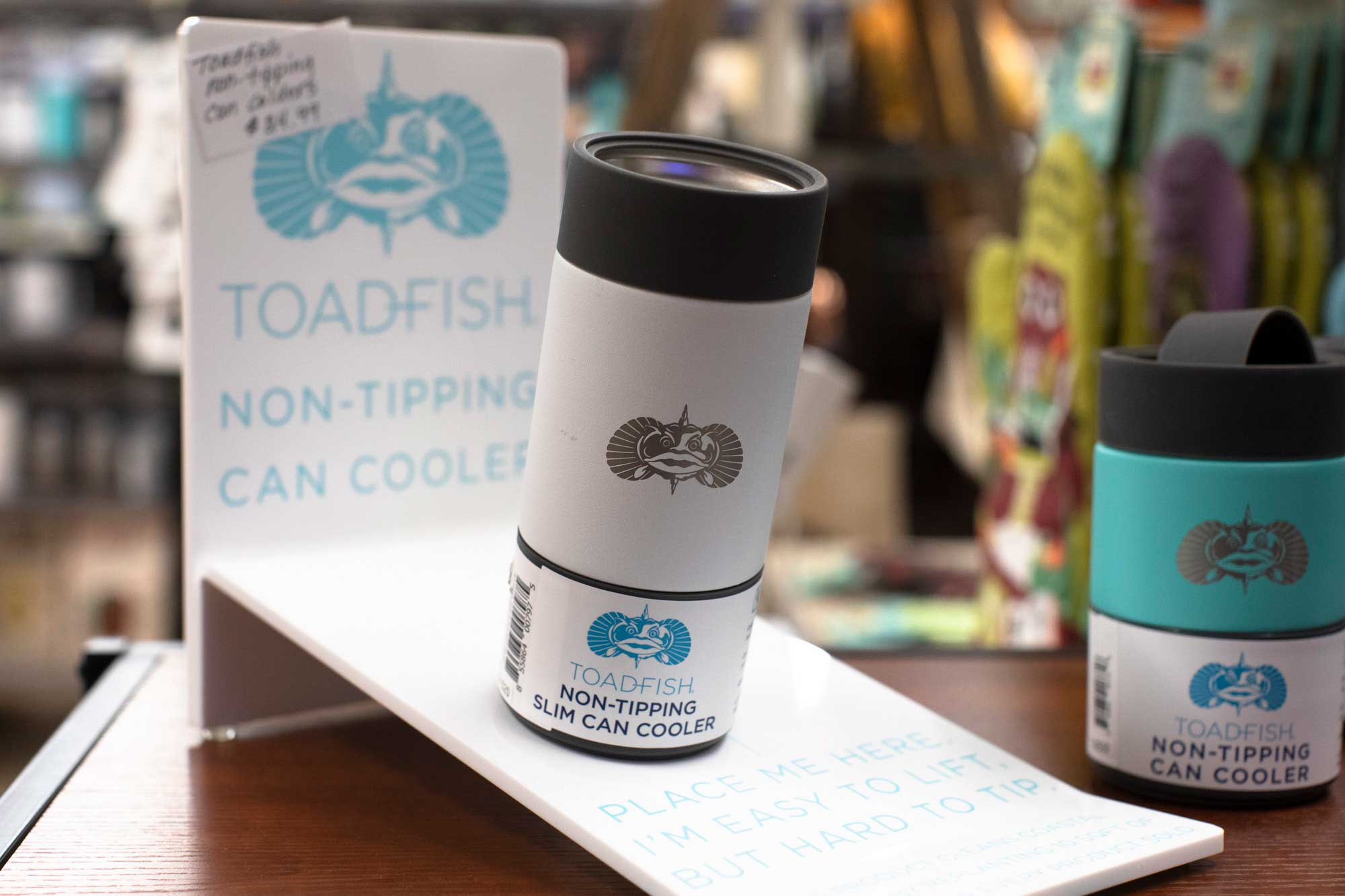 toad fish brand non tipping beer cooler
