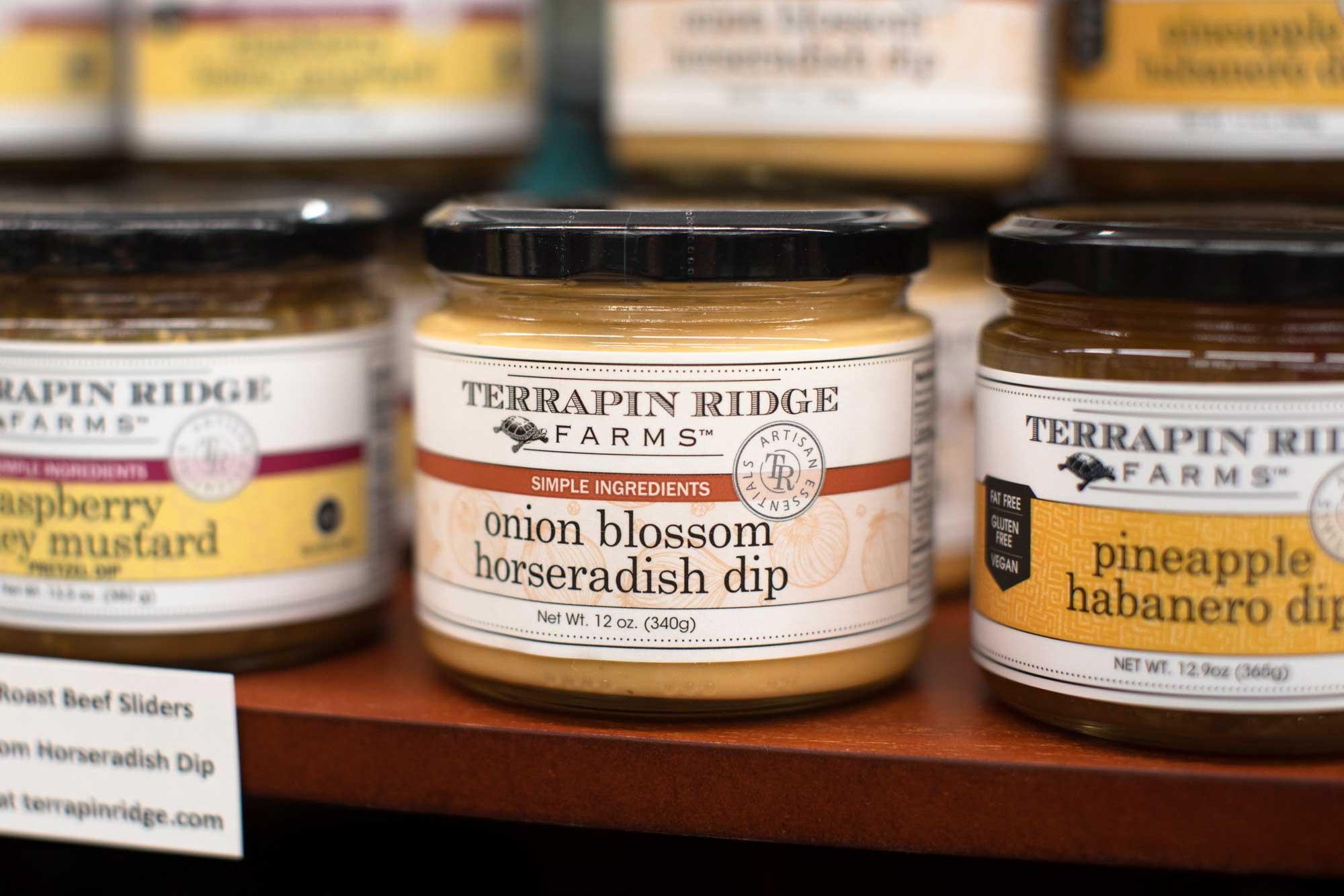 Terrapin Farmes dips