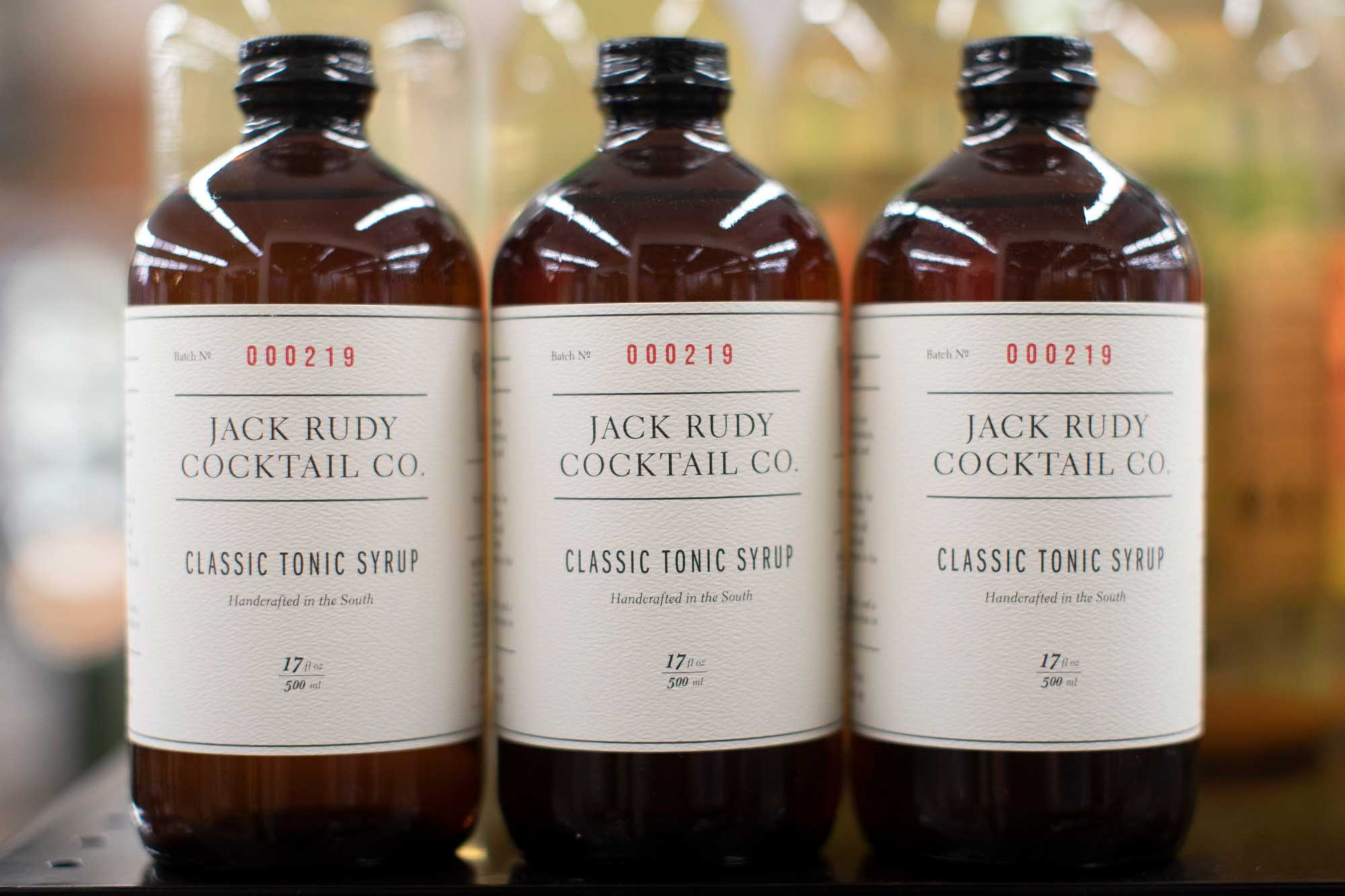 Jack Rudy Cocktail Co tonic syrup