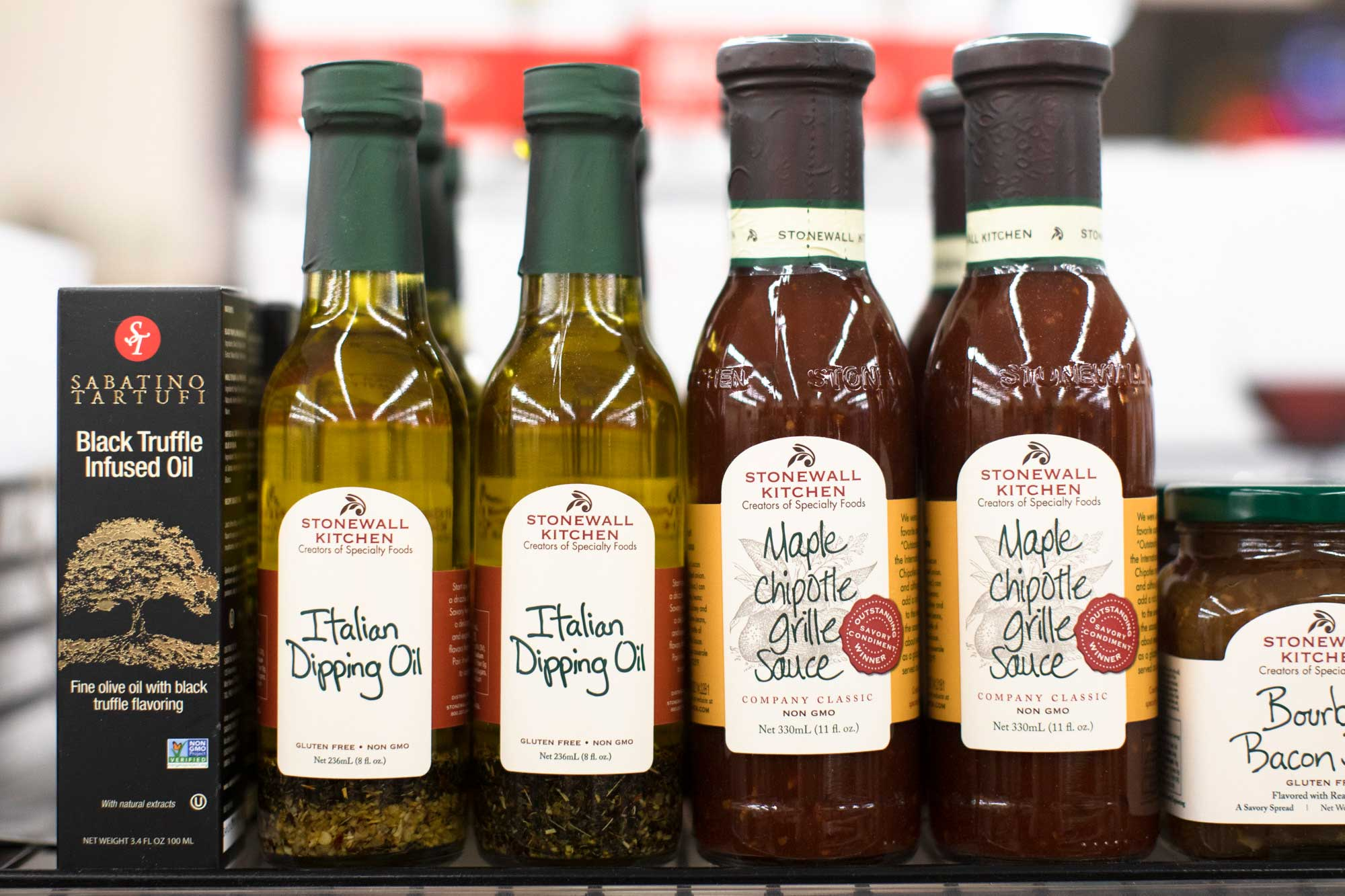 Stonewall Kitchen dipping oils and sauces