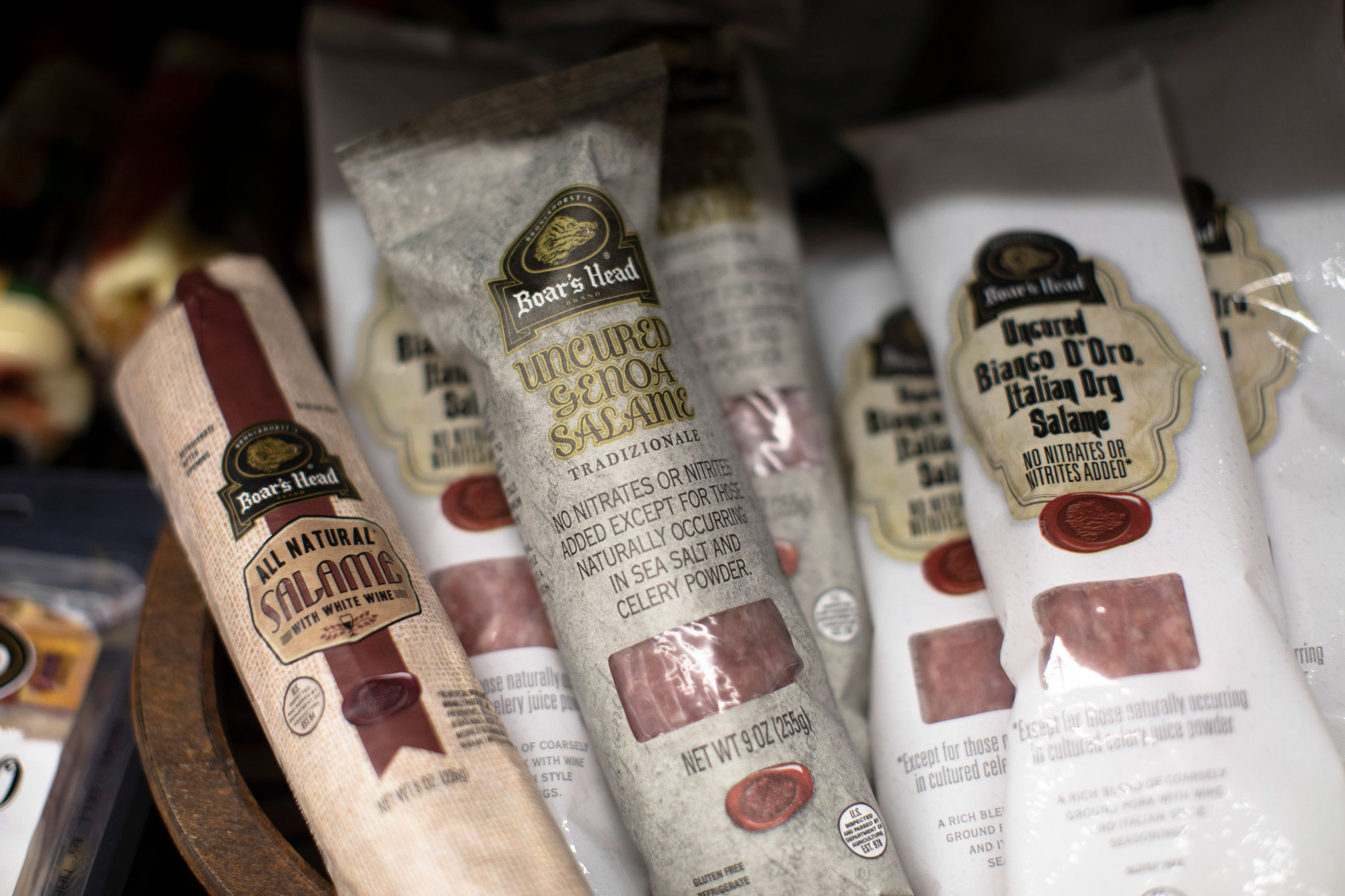 specialty foods such as salami