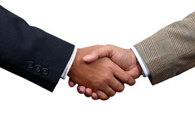 Photo of handshake representing Mergers and Acquisitions for Business by Corporate Lawyer in Pennsylvania and New Jersey