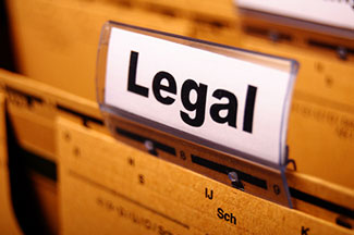 photo of legal file organization for Business Law Firm in PA and NJ