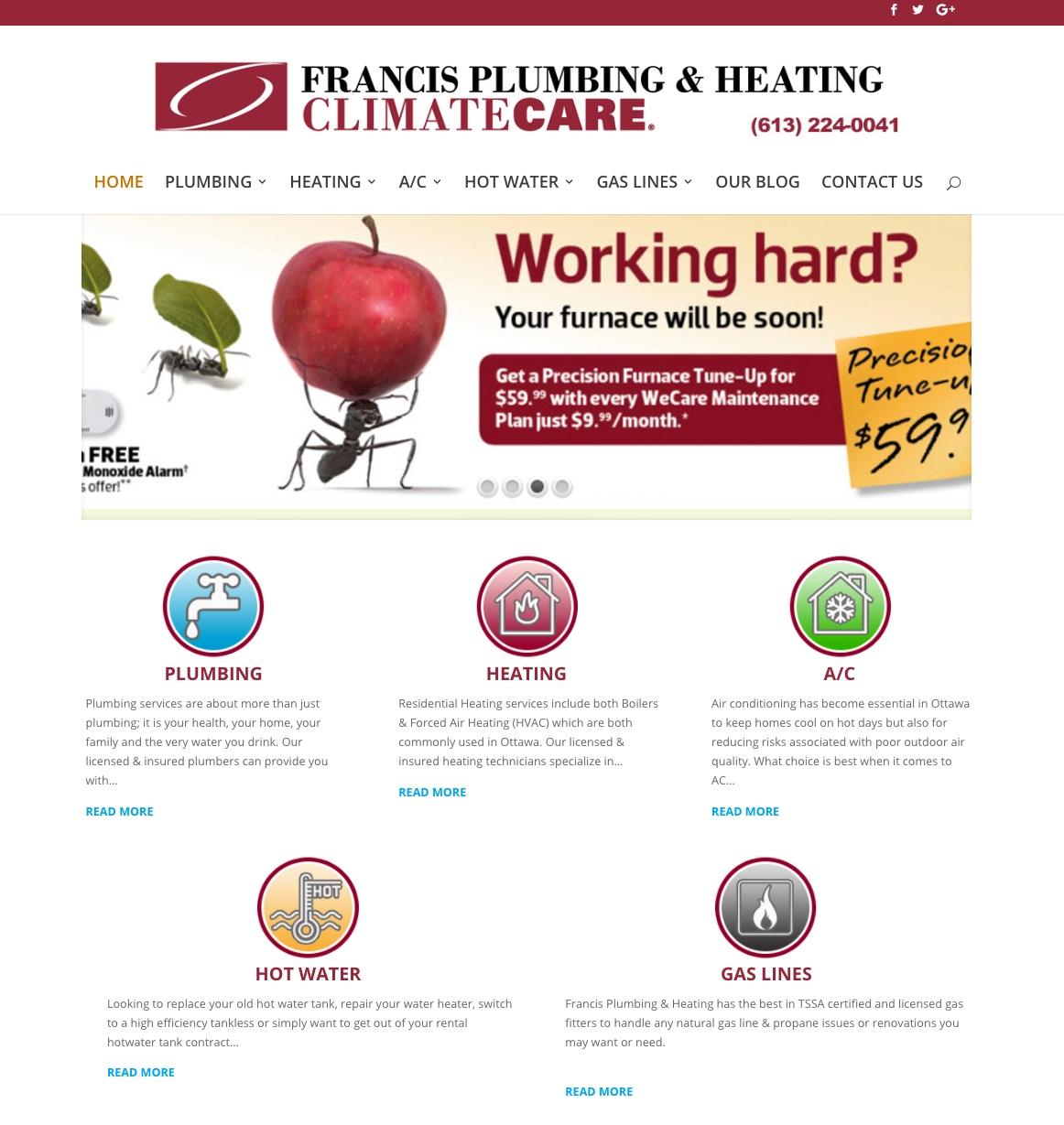 Francis-Plumbing-Webdesign-Large