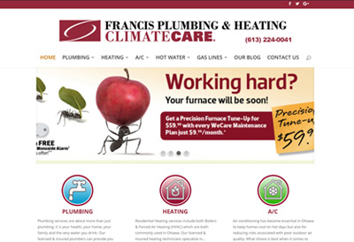 Francis-Plumbing-Website-Thumbnail