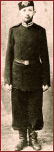 Jacob Marateck in Uniform