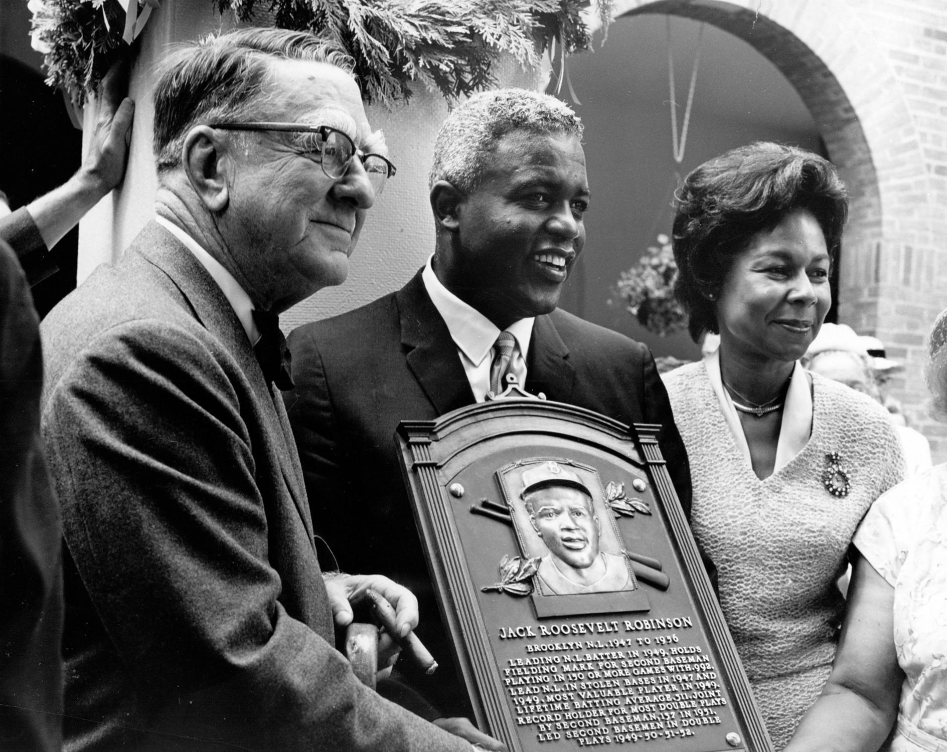Jackie Hall of Fame