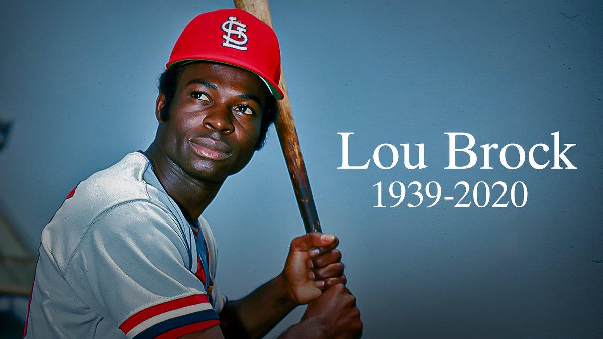 Lou Brock 1939-2020