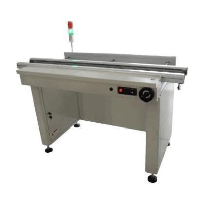 1.5 Meter Edge Roller Conveyor w Alarm - smtindustrial.com