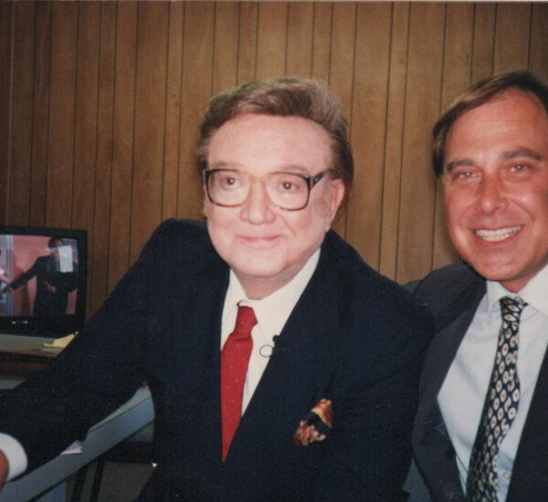 Steve Allen and Tom