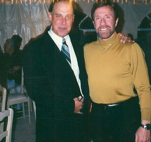 Tom and Chuck Norris