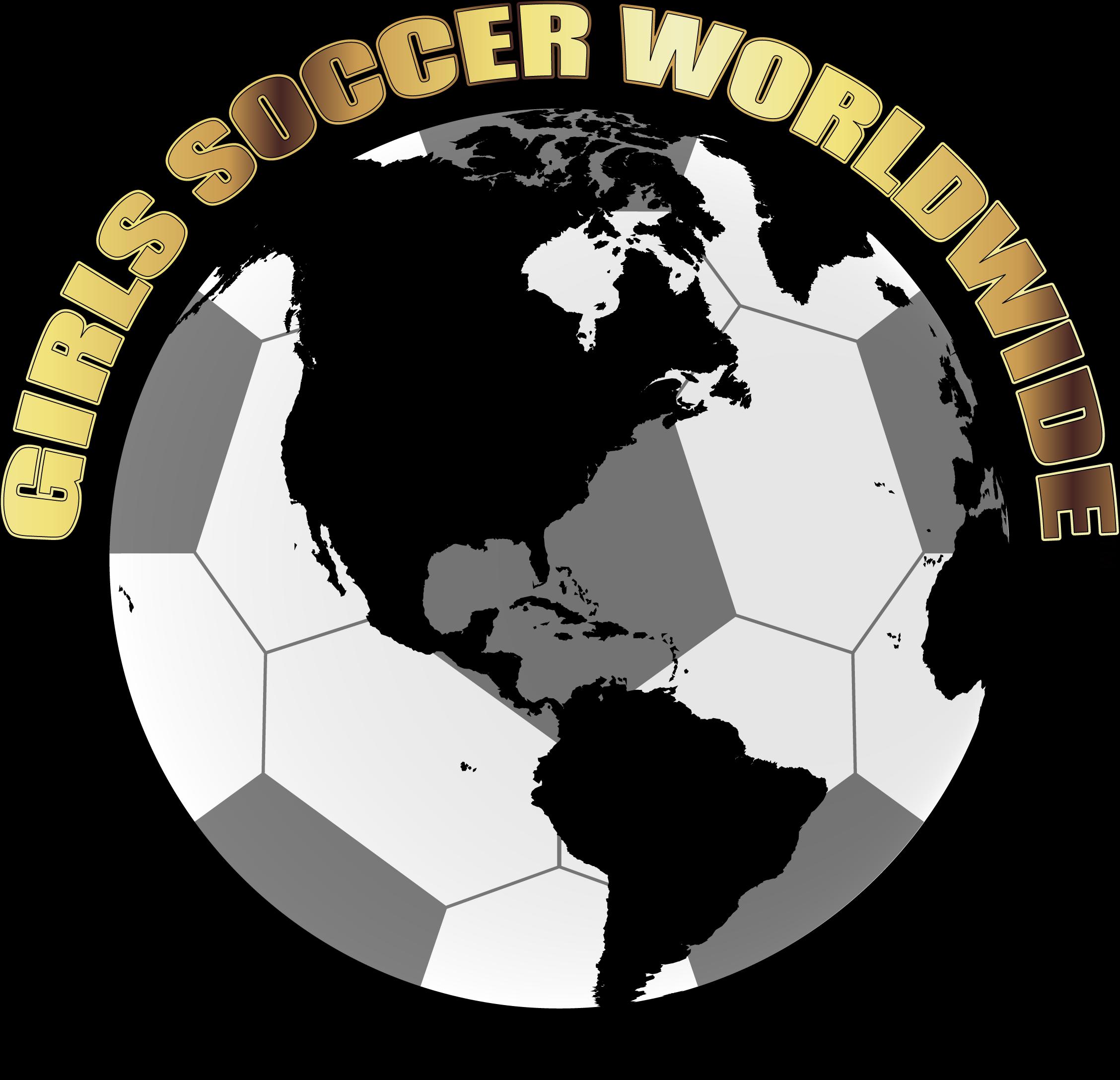Gir;s Soccer Worldwide logo