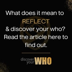 reflect and Discover Your WHO with Heather J. Crider Go Reflect Yourself Podcast and Growth Mindset Coach Website Image