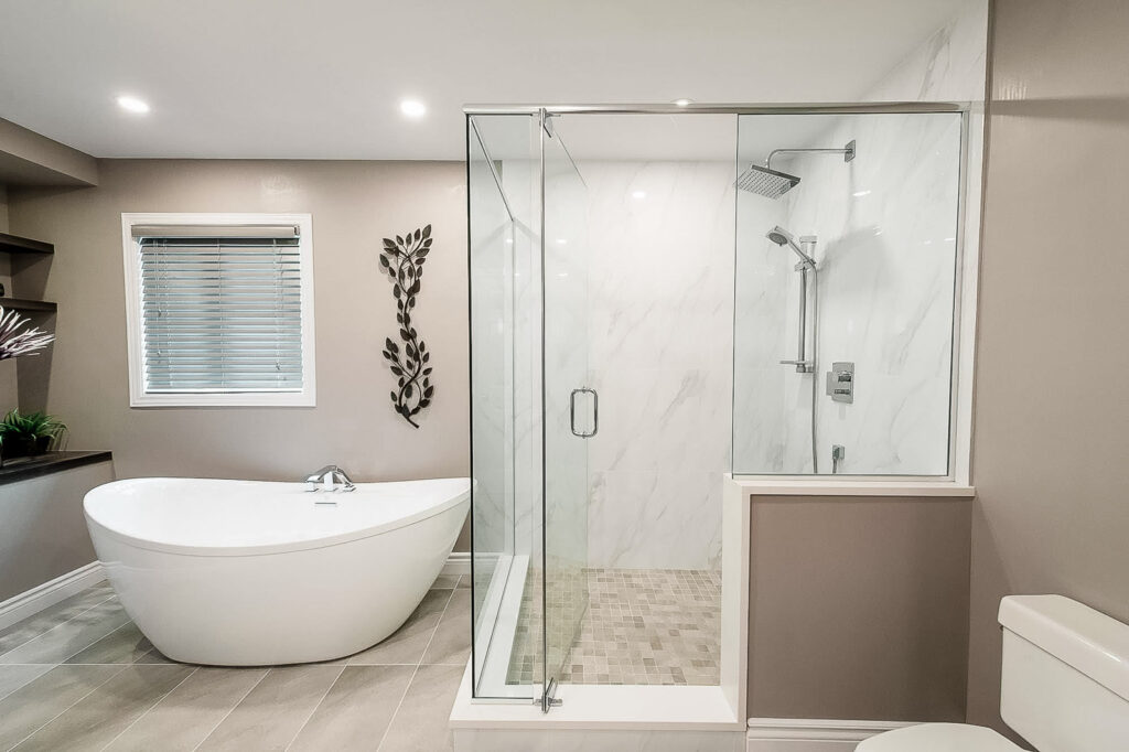 custom bathroom in Ottawa
