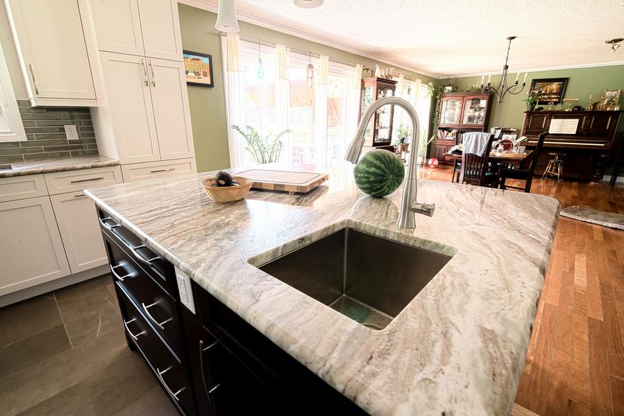open concept kitchen renovation in Ottawa