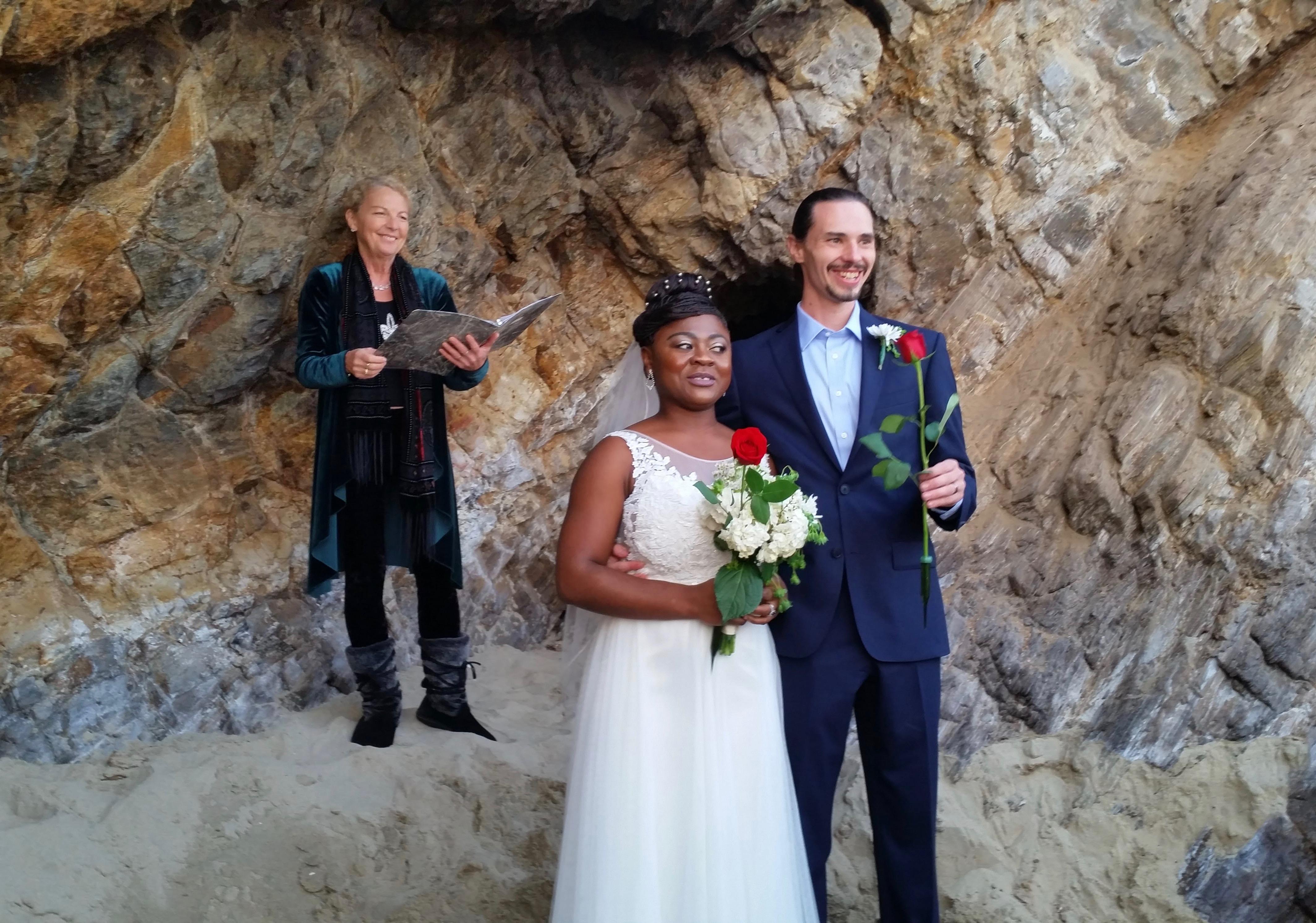 Steven and Ghislaine wedding