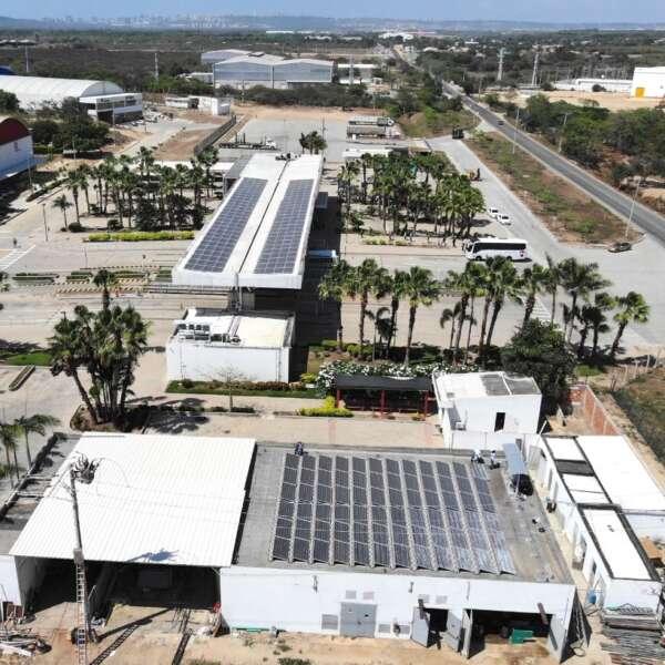 Energías renovables Zona Franca La Cayena