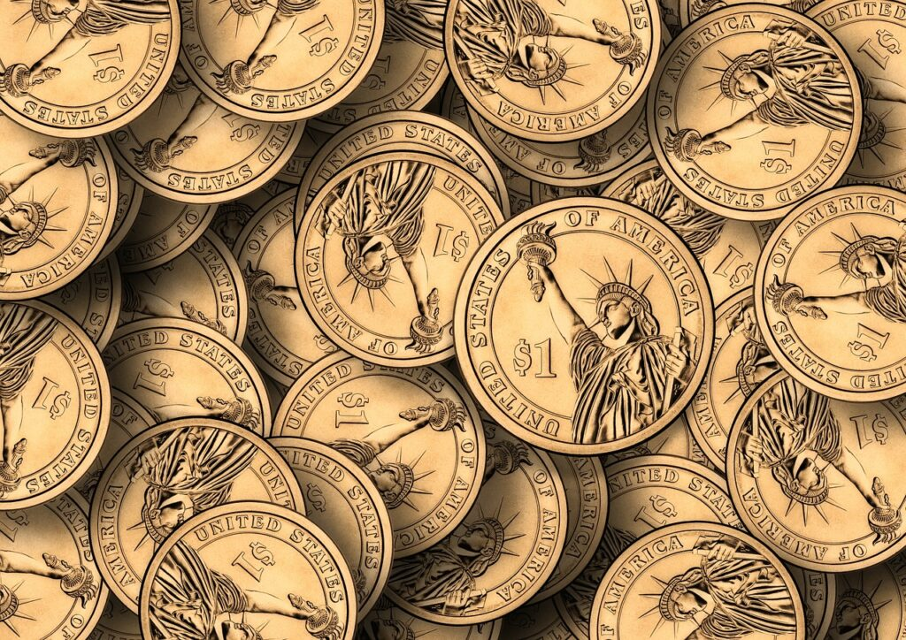 dollar, currency, money