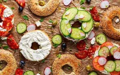 Three Local Bagel Shops to Support Near Norwalk