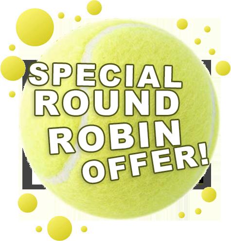 ROUND ROBIN AT RYE RACQUET CLUB