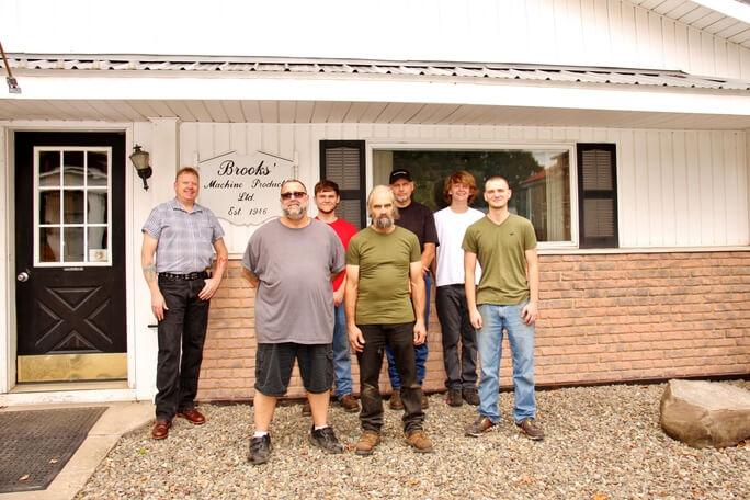 Brooks' Machine Products Employees 3