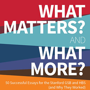What Matters? and What More?