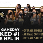 Powered by VenueShield, Saints Ranked #1 In NFL For Safety & Security