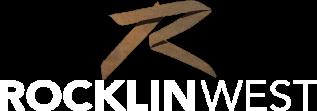 RocklinWest Logo White