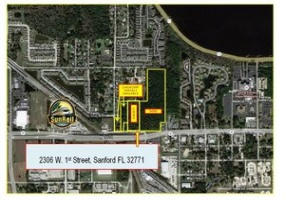 2306 W 1st Street, Sanford, Florida, United States 32771, ,Land,For sale,W 1st Street,1003