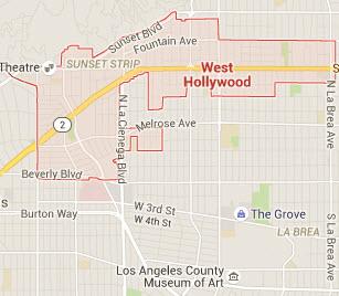 West Hollywood DUI