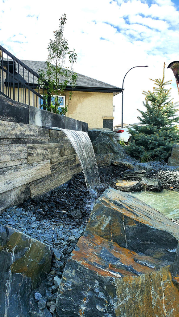 Prelude Landscaping Water Feature