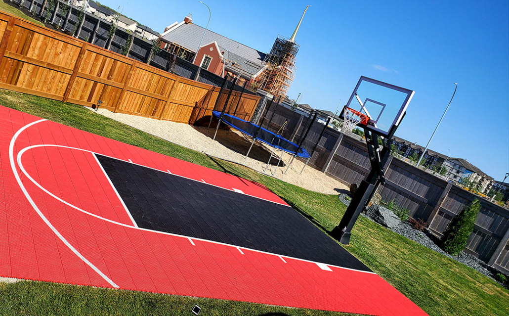 Prelude Landscaping Basketball Patio