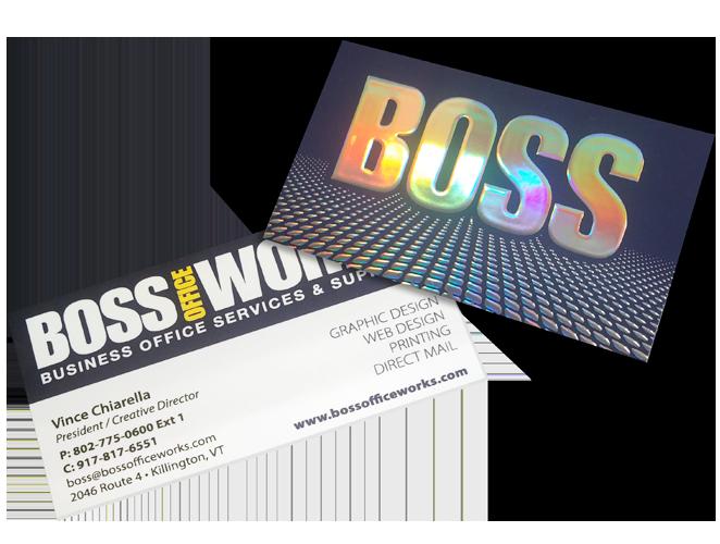 Boss Business Card