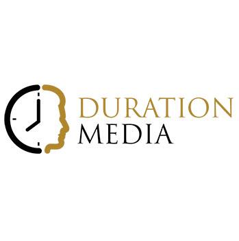 Duration Media Logo Design