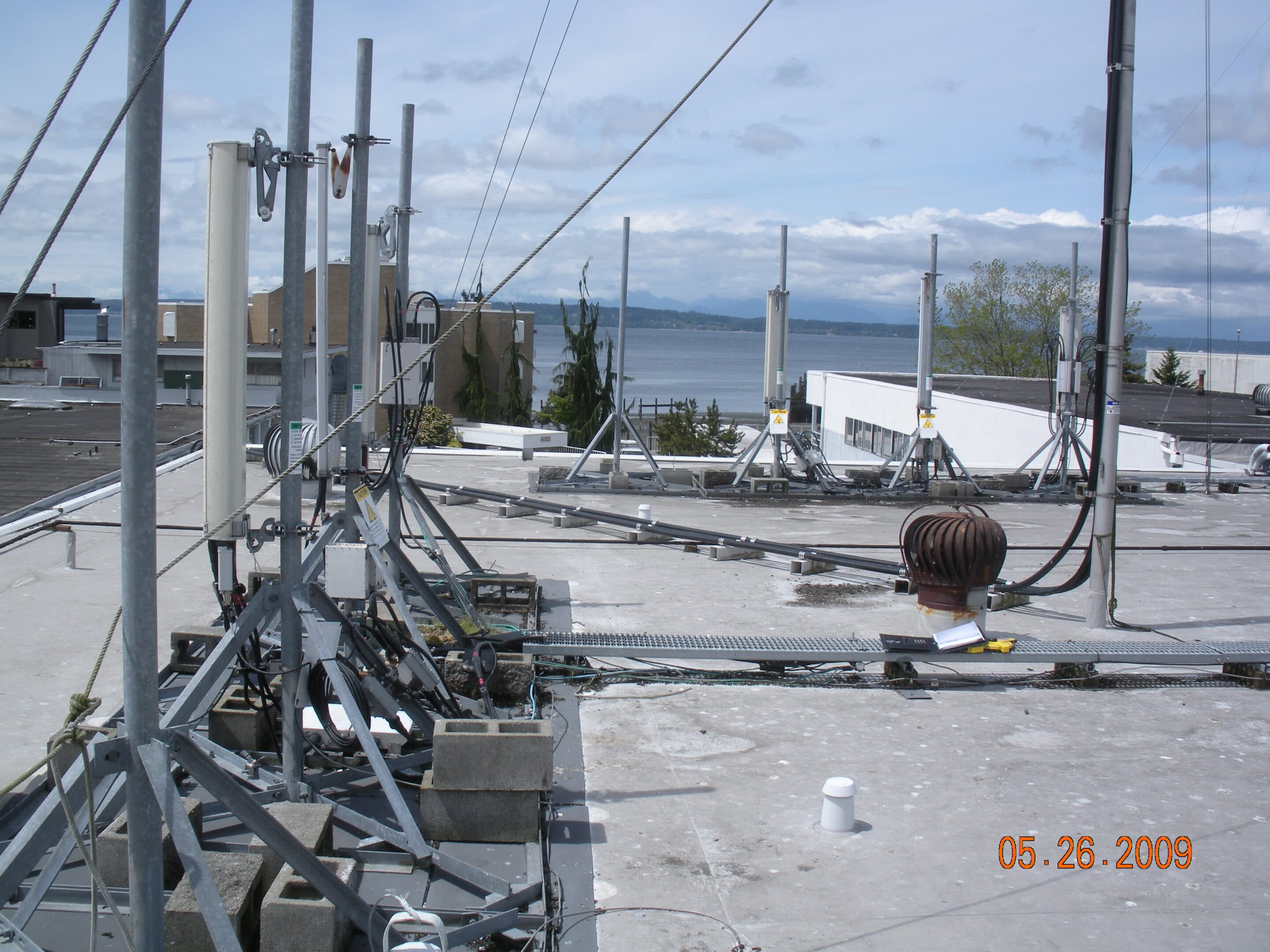 engineering for rooftop wireless installation