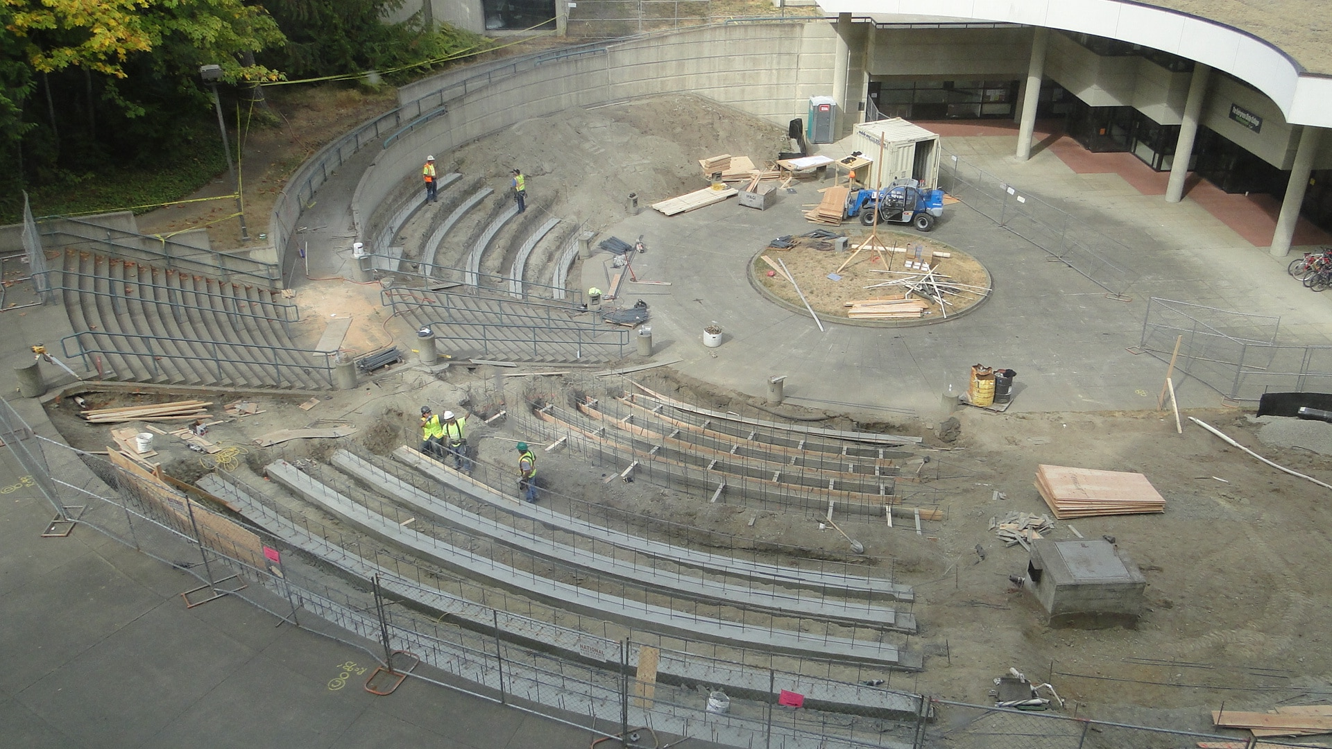 structural and civil engineering for amphitheater