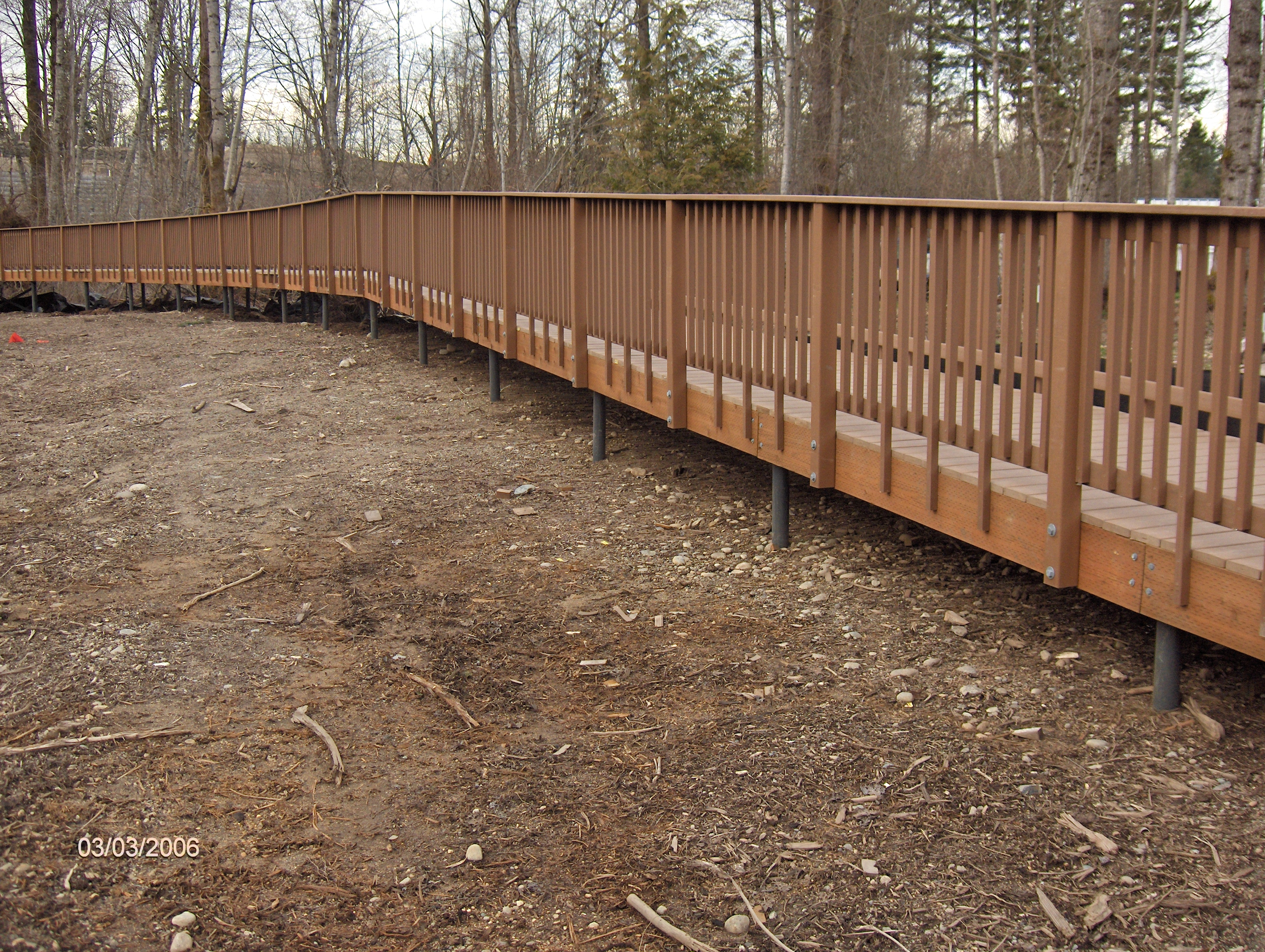 structural engineering for walkway