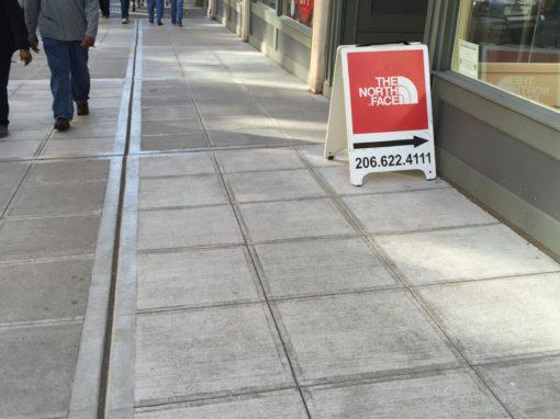 Alexis Hotel Sidewalk Repair